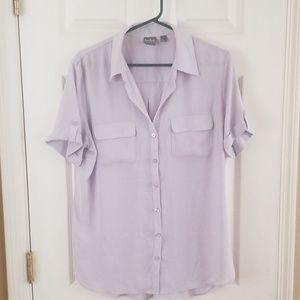 Lavender button up